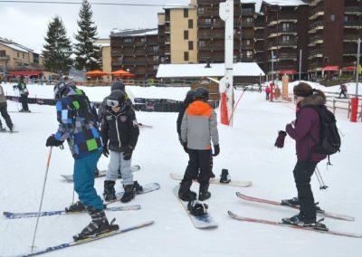 La sortie au ski du groupe 6