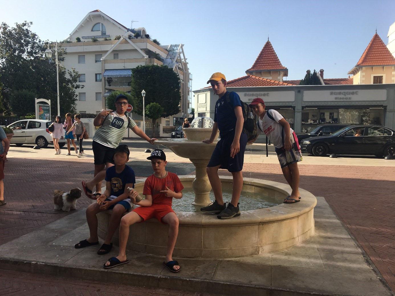 fontaine classe morcenx